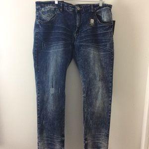 96d0dcf169 NEW XRAY Jeans Men's 40 X 30 medium wash
